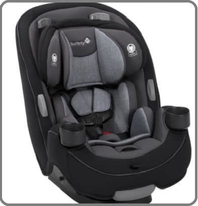 best convertible car seat 2018 under $150 image 5