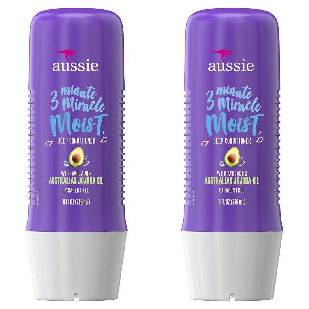 Aussie Paraben-Free Miracle Moist 3 Minute Miracle w/ Avocado