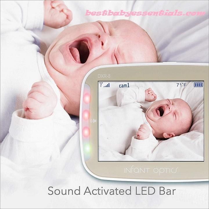Best Digital Video Baby Monitor – Infant Optics DXR-5 2.4 GHz Digital Video Baby Monitor