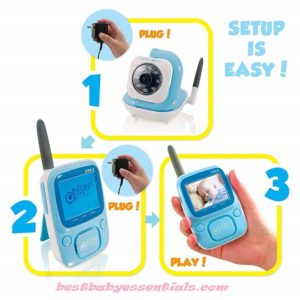 Portable Video Baby Monito