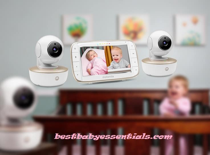 Motorola Baby Monitor – Digital Video Baby Monitor with 2 Cameras, 3.5 Inch LCD Screen