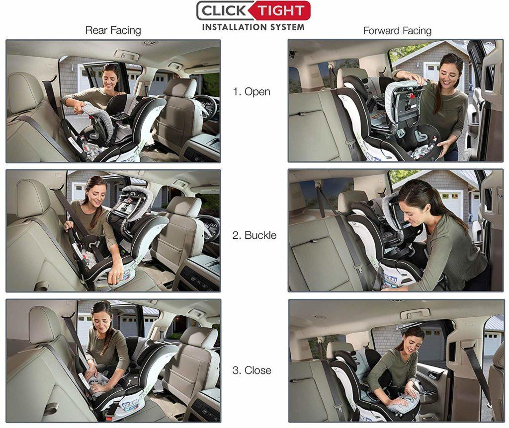 Britax Boulevard ClickTight Convertible Car Seat - Best Convertible Car Seats -Best Car seats Review by Best Baby Essentials