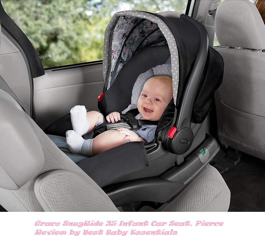 Graco SnugRide 35 Infant Car Seat, Pierce Review by Best Baby Essentials