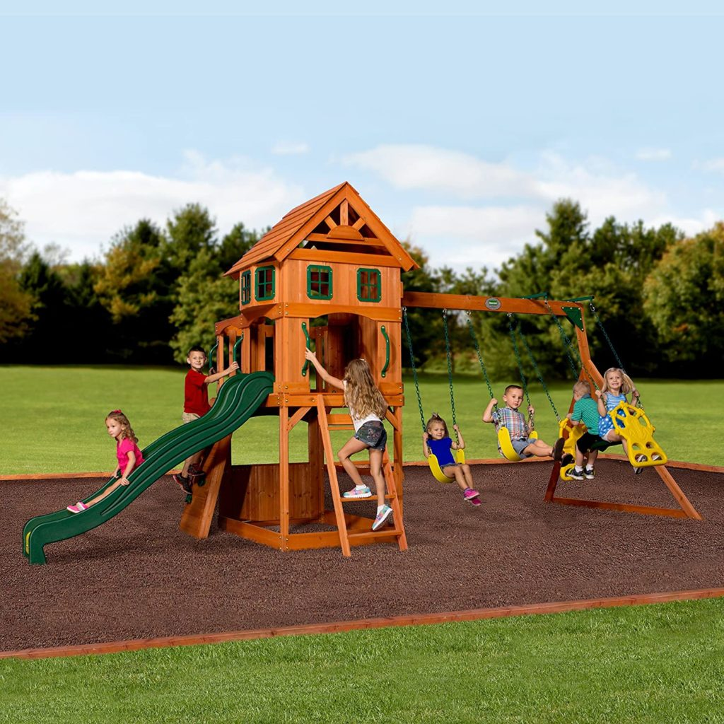 Best Swing Sets and Kids Playsets