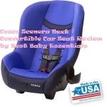 Cosco Scenera Next Convertible Car Seat Review in 2020