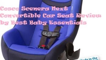 Cosco Scenera Next Convertible Car Seat Review in 2020